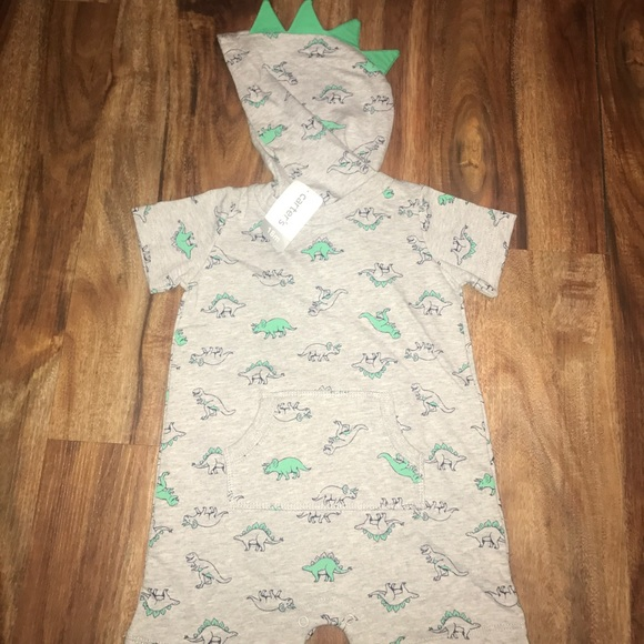 df116056b Carter's One Pieces | 5 For 25nwt Carters Dino Hoodie Romper 18 ...